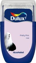 Dulux Pretty Pink emulsion tester